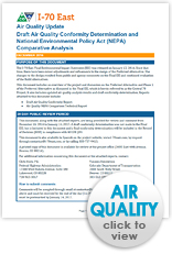I-70 East Draft Air Quality Document (thumbnail)