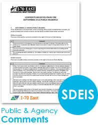SDEIS Public and Agency Comments (thumbnail of comments)