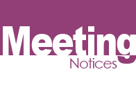 Meeting Notices
