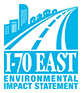 I-70 East Environmental Impact Statement (EIS) project logo