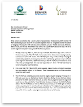 Letter Of Support From Adams County The City And Denver Commerce