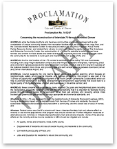 Letter Of Support From The Council City And County Denver Thumbnail