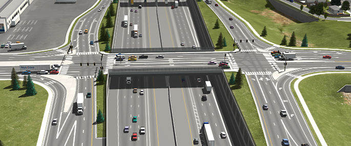 Phase 1 of the Final EIS Preferred Alternative (Partial Cover Lowered Alternative) - I-70/Steele Street/Vasquez Boulevard Interchange